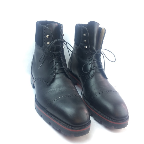 best service bb776 63aef Christian Louboutin Men's Lace up boots size 10